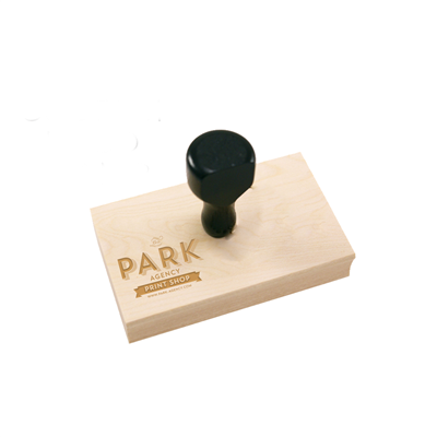 ⚪ Rubber Stamps (Wood Mounted)